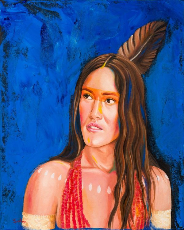 "Sobia Shuaib The Chief's Daughter 16"" x 20"""