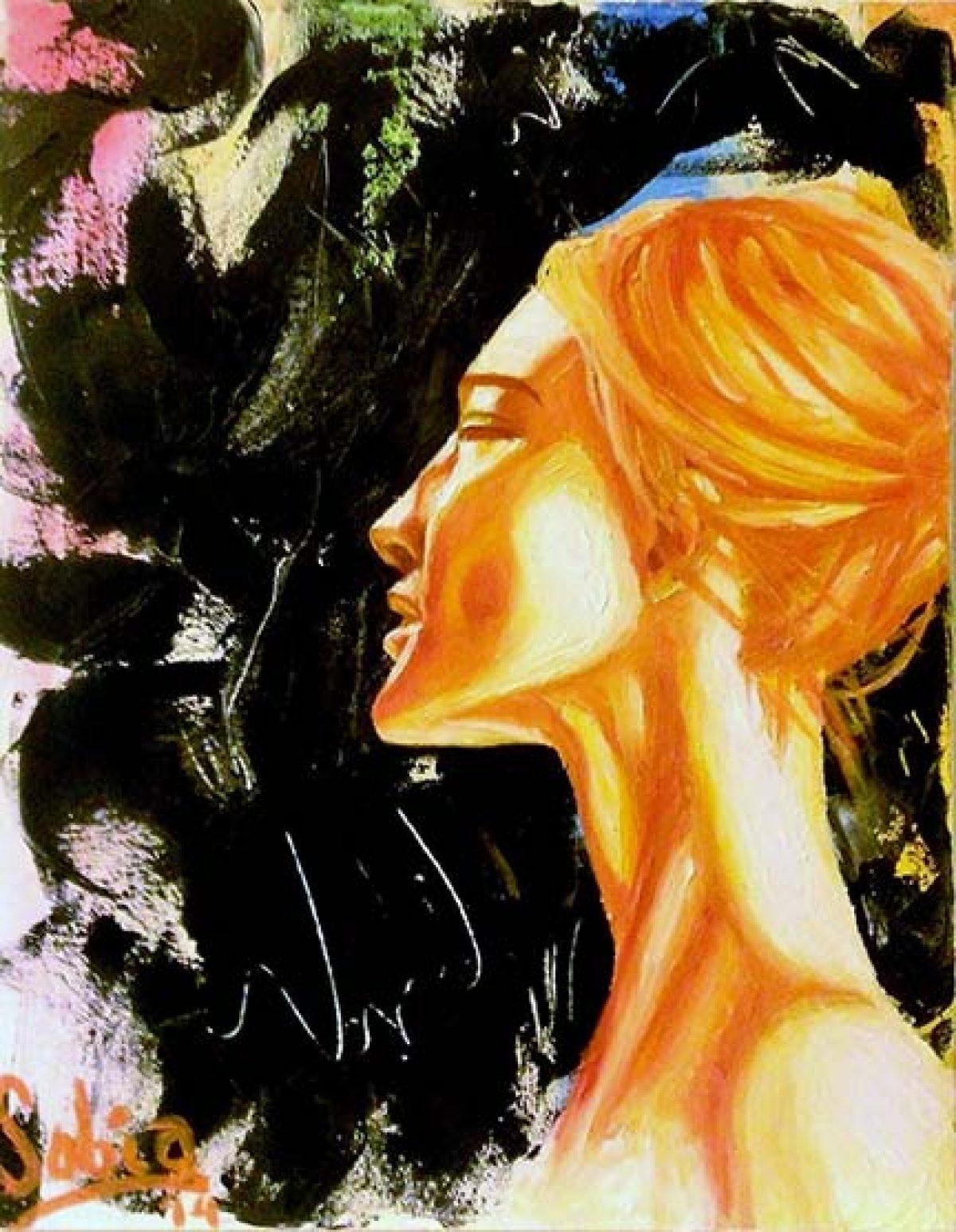 """Sobia Shuaib Nirvana 16"""" x 20"""""""
