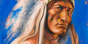 "Sobia Shuaib The Chief 16"" x 20"""