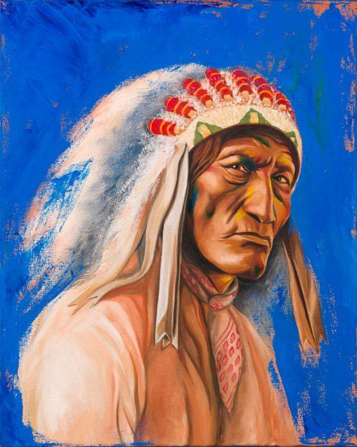 """Sobia Shuaib The Chief 16"""" x 20"""""""