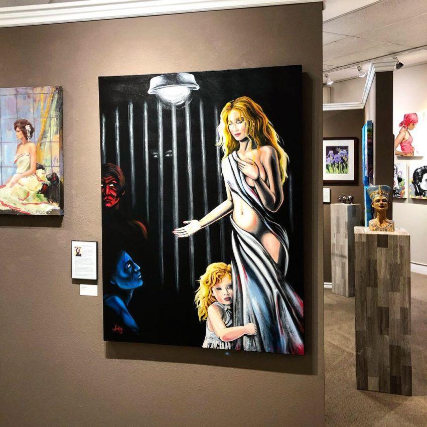 NL Sobia Shuaib Faith at Parklane Gallery